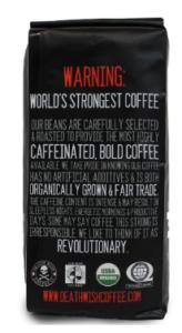 death wish coffee warning