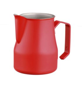 Motta Europa professional milk pitcher - red