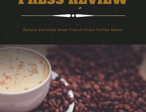 Practical and Pretty: Secura French Press Review