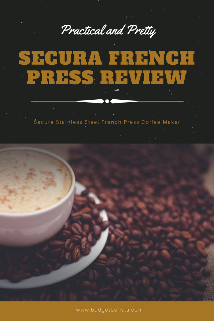 Secura Stainless Steel French Press Coffee Maker