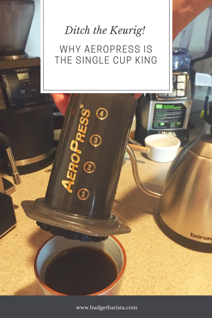 why aeropress is the single cup king