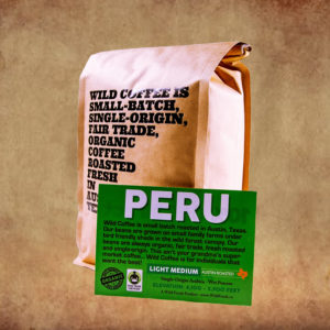 Wild Coffee Single Origin Peru Light Roast